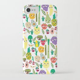 Fruit And Veggie Madness iPhone Case