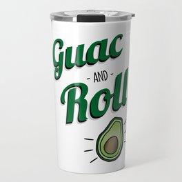 Green Guac and Roll Cinco de Mayo Travel Mug