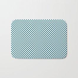 Ocean Depths Polka Dots Bath Mat