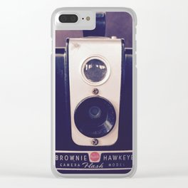 Brownie Camera Clear iPhone Case