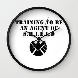 S.H.I.E.L.D Training Wall Clock