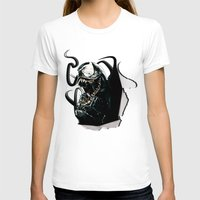 venom T-shirts featuring Venom  by D77 The DigArtisT