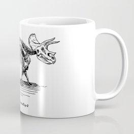 Figure Two: Triceratops Coffee Mug