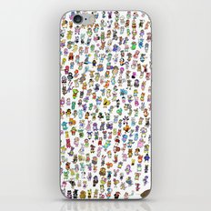Animal Crossing New Leaf All Villagers iPhone & iPod Skin
