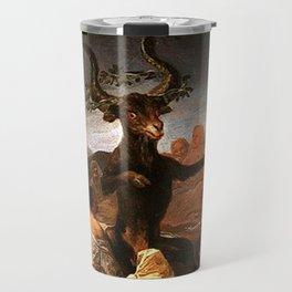 The Sabbath of witches - Goya Travel Mug