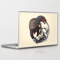 bouletcorp Laptop & iPad Skins featuring Ouroboros by Bouletcorp