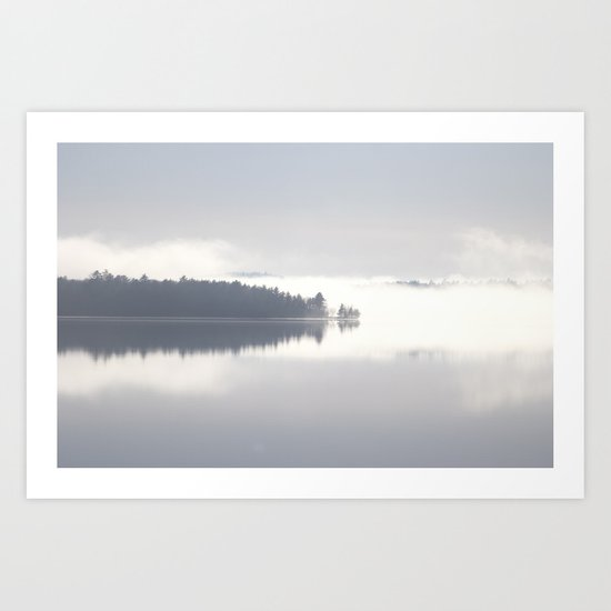 Reflecting By The Lake Art Print