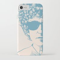 dylan iPhone & iPod Cases featuring Dylan by Jeroen van de Ruit