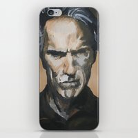 clint barton iPhone & iPod Skins featuring Clint by Niall Drew