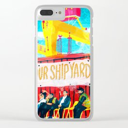 Shipyard Clear iPhone Case