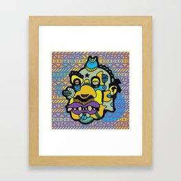 BERRYBLUE Framed Art Print