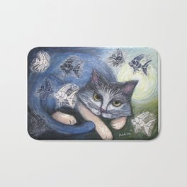 Day dreaming Bath Mat