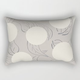 Polka dot flower Rectangular Pillow