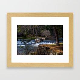 Loleta Dam #1 Framed Art Print