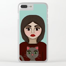 You Just Get Me Clear iPhone Case