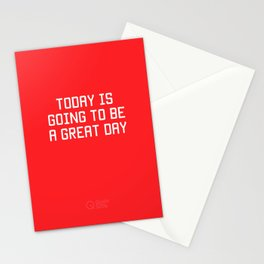 Today is Going to be Great Day Stationery Cards