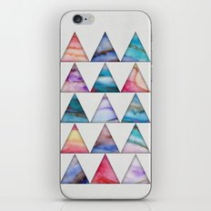 Marble Triangles 2 iPhone & iPod Skin