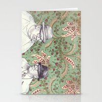men Stationery Cards featuring Old Men by Jason Ratliff