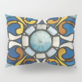 John La Farge - Blue panel Pillow Sham