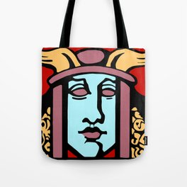 Jugendstil Einfuhrmesse Frankfurt re Tote Bag