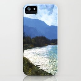 Peace In The Valley - Landscape Art iPhone Case