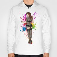 lace Hoodies featuring LACE by Don Kuing