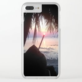 KP Sunset #2 Clear iPhone Case