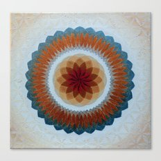 Toroidal Floral (ANALOG zine) Canvas Print