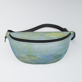 Water lilies by Claude Monet, 1906 Fanny Pack