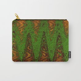 Waving Green Carry-All Pouch