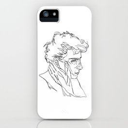 """""""I don't want you to go"""" iPhone Case"""