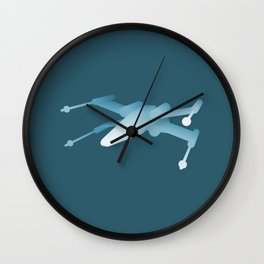 Star Wars X-Wing Wall Clock