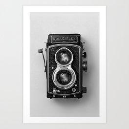 Rolliflex Camera Art Print
