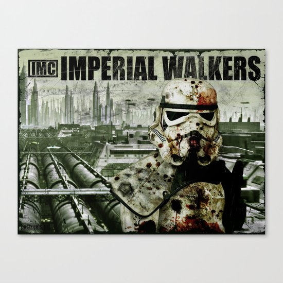 Imperial Walking Dead Canvas Print