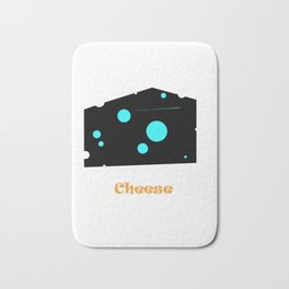 CHEESE Bath Mat