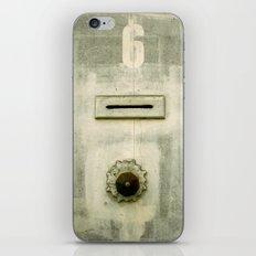 Old 6  iPhone & iPod Skin