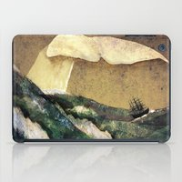 dick iPad Cases featuring Moby Dick by Rachael Shankman