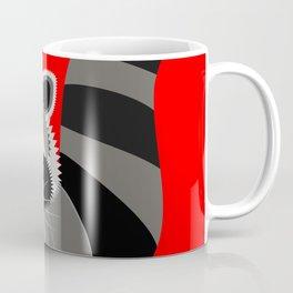 Red Raccoon Rascal Coffee Mug
