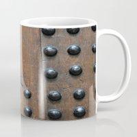 door Mugs featuring Door by constarlation
