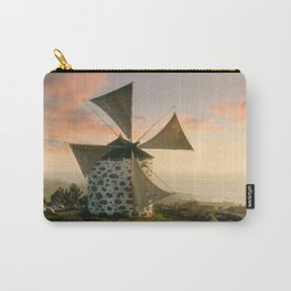 A rustic windmill in the Minho, north Portugal Carry-All Pouch