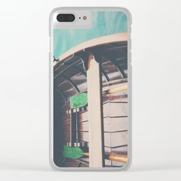 drifting on Lake Bled photograph Clear iPhone Case
