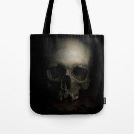 Male skull Tote Bag