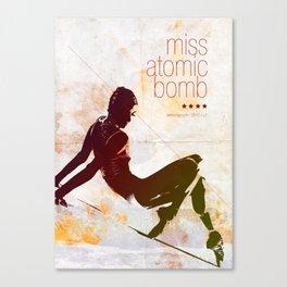 Miss Atomic Bomb. V2 Canvas Print