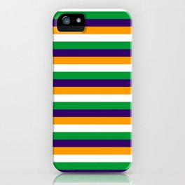 India flag stripes iPhone Case