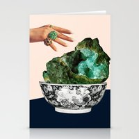 geode Stationery Cards featuring GEODE by Beth Hoeckel