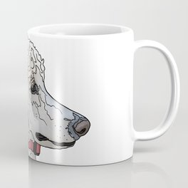Kyah the White Standard Poodle Coffee Mug