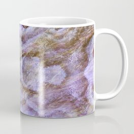 Abstract Mineral Amethyst Crystal Texture Coffee Mug