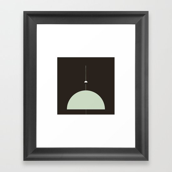 #270 Beyond Uranus – Geometry Daily Framed Art Print