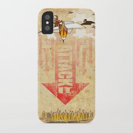 ATTACK IT iPhone Case