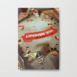 Ice Hockey Metal Print